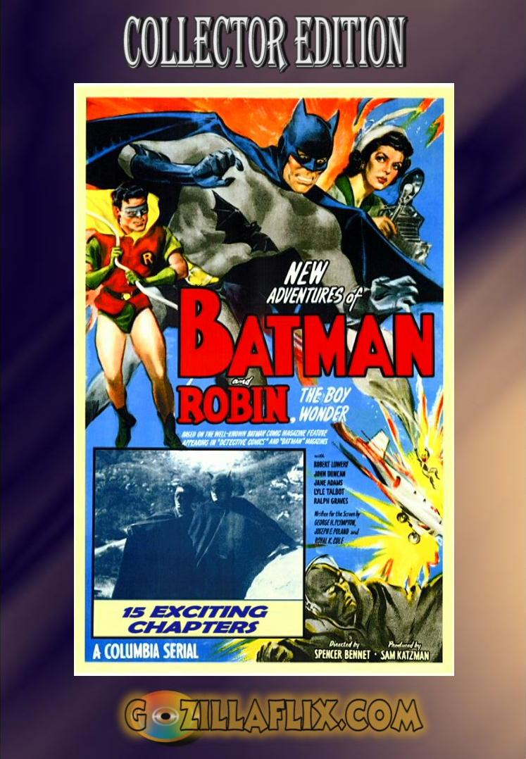 Batman and Robin, The Complete 1949 Movie Serial Collection