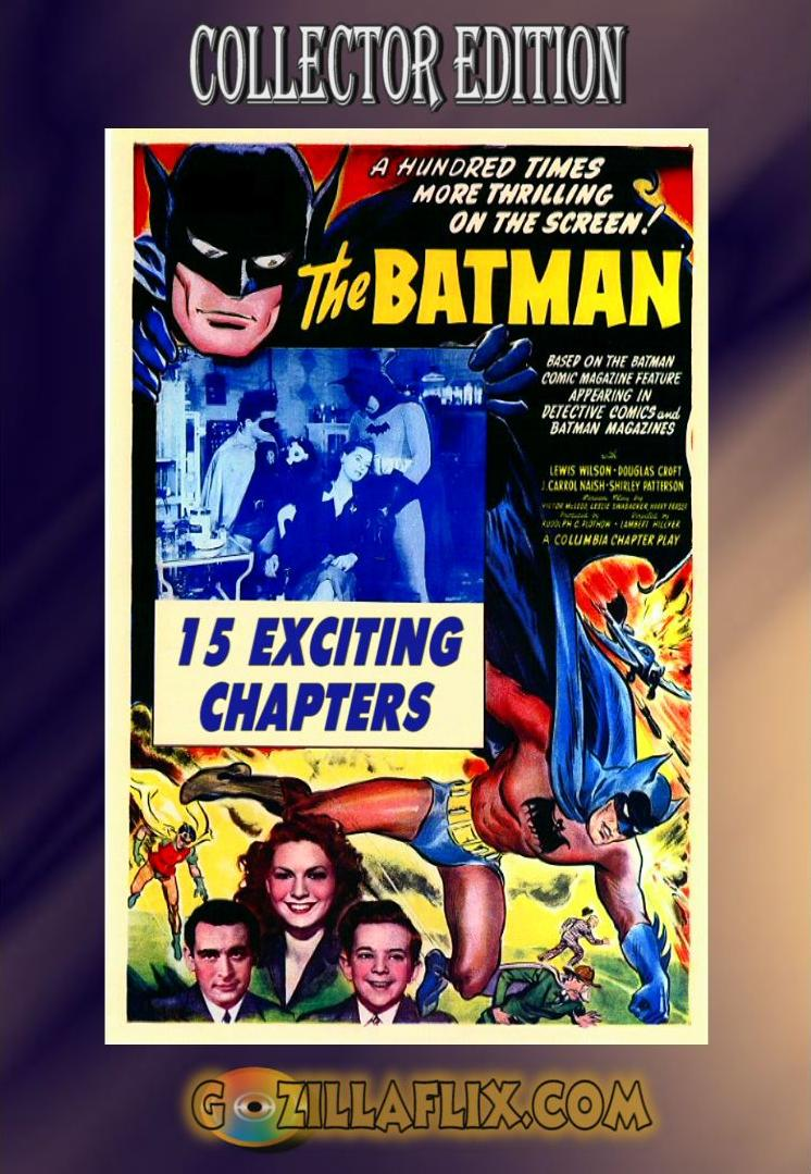 Batman, The Complete 1943 Movie Serial Collection