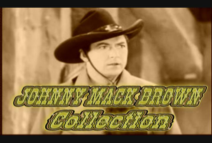 Johnny Mack Brown Collection I ~ 8 DVD ~ 25 Great Westerns